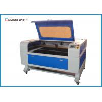 Quality Granite Stone Desktop 100w CO2 Laser Engeraving Machine With Water Chiller for sale