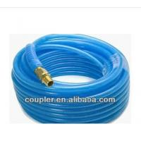 Buy High quality Recoiled Blue PA Air Hose with quick coupler at wholesale prices