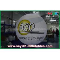 Quality 0.2mm PVC Airtight Inflatable Ground Balloons Waterproof With Logo Print for sale