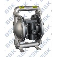 Quality Air Driven Stainless Steel Diaphragm Pump 2 Diaphragm Pump For Ceramics Industry for sale