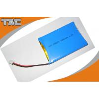Quality GSP055070 3.7V 1800mAh Polymer Lithium Ion Batteries With PCB blue PVC for sale