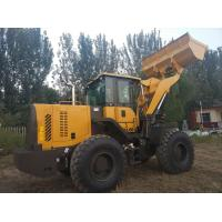 Quality Front Loader Articulated Wheel Loader 4000 kg Rated Load Color Customized For Building for sale