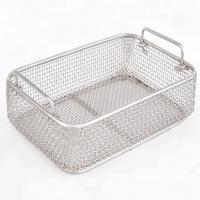 Quality Stainless Steel Wire Mesh Baskets For Surgical Instrument Sterilization for sale