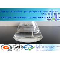 Quality Fatty Alcohol Polyoxyethylene Ether Nonionic Surfactants CAS 9002-92-0 for sale