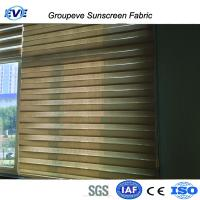 Quality Polyester Screen Sheer Zebra Blinds Fabric for sale
