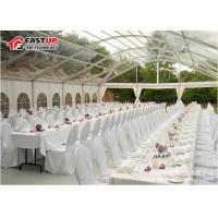 High Reinforce Frame Clear Span Tent For Conferences Tear Resistant