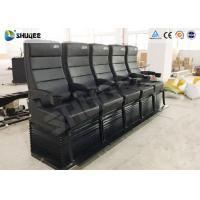 Buy Environmental Motion Chair 4D Cinema Equipment With Metal Flat Screen at wholesale prices