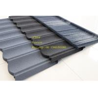 Quality Stone Coated Metal Roof Tile / Metal Roofing Shingles Building Material ISO9001 for sale