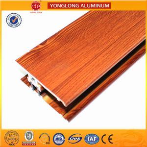 Quality Insulation Wood Finish Aluminium Profiles For Medical Equipment OEM for sale