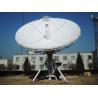 Buy cheap 6.2m C/ku Band Satellite Antenna, 6.2m earth station c / ku, rx/tx satellite from wholesalers