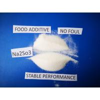 Quality Sodium Sulfite Chemical FormulaNa2SO3, Antimicrobic Sodium Sulfite Anhydrous For Food for sale