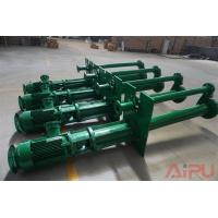 Quality Mud recycling submersible slurry pump for sale at Aipu solids control for sale