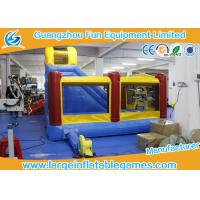 Buy Large Inflatable Jumping Castle With Prices , Inflatable Dry Slide at wholesale prices