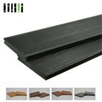 Quality Click Lock Cost Per Square Foot Modern Black Grey Bamboo Solid Wooden Floor For Outdoor Deck for sale