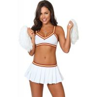 China White Sexy College Cheerleader  Halloween Adult  Costumes New Styles Fancy on sale