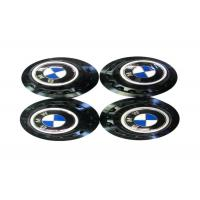 Quality High Performance Auto Exterior Accessories , Blue Metal Emblem Rim Center Caps  for sale