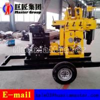Quality XYX-200 Wheel Type hydraulic press rotary drilling machine water well drilling rig for sale for sale
