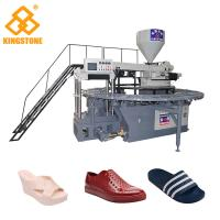 Buy cheap 110-150 Pairs / Hour Shoe Making Production Line plastic Slipper Shoes Making from wholesalers