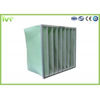 China MERV 5 - 14 Industrial Air Filter 50 - 80Pa Initial Pressure Drop Aluminium Frame on sale