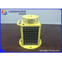 Quality Flashing Medium Intensity Solar Aviation Warning Light with Remote Controller for sale