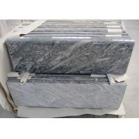 China Juparana Black Granite Stone Tiles For Tombstone High Density 2800kg/M3 on sale