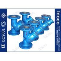 China BOCIN DN80 Oil Line Threaded Type y Strainer Filter , Bolted Or Threaded Covers on sale