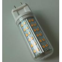 China 8W AC100-240V G12 LED Retrofits Single Ended Bulb Light 84x smd2835 leds Dimmable for sale