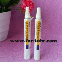 Quality Collapsible Aluminum Pharmaceutical Tubes with Long Nozzle for Eye Ointment for sale