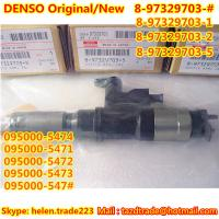 Quality DENSO Original Injector 095000-547# / 095000-5474 / 095000-5471/ 8-97329703-# /897329703# for sale