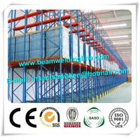 China High Loading Capacity Cold Formed Steel Sections , Storage Shelf Drive In Racks on sale