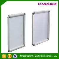 China China Qianzhihe a0 a1 a2 a3 a4 size led backlit elevator aluminum poster frame on sale