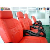 Buy Business Center 5D Cinema Equipment With Safety Chair / Push Back Function at wholesale prices