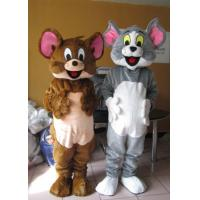 Quality Lovely Cartoon Character Tom and Jerry mascot costumes for Theme Park for sale