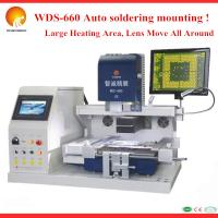Quality CE&ISO WDS-660 HD CCD computer repair machine laptop motherboard repair machine with Panasonic PLC controller for sale