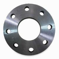 Quality DIN 2576 2573 2642 Norm Plate Steel Pipe Flange Forged , PN6 / PN10 Plate for sale