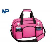 Quality Business Trip Camping Pink Color Cute Duffel Bags Heat Transfer Printing for sale