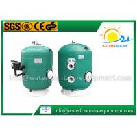 Quality Deep Bed Swimming Pool Filter Fiberglass Wound Tank Industrial Use 6 Way Valve for sale
