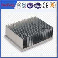 Quality New arrival! extruded aluminum sinks/ aluminum radiator fins short cut aluminum profile for sale
