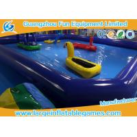 Quality Dark Blue Inflatable Water Pool For Water Floating Park Games , Customized Swimming Pool Inflatable for sale