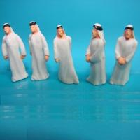 Quality 1:50 Arabic figure-scale figure,architectural model people,1:25 painted Arabic figures,scale people,model stuffs for sale