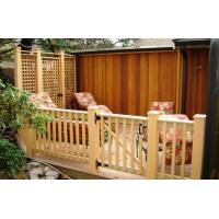 Quality Composite Decking and Railing system with privacy wall and door  600*420 for sale