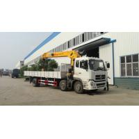 Quality Euro 3 210hp  12T Dongfeng 6x2 Cargo Crane truck for sale