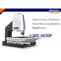 Quality 400x300mm High Accuracy 3D Manual Vision Measuring Machine iTouch Series for sale