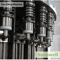 Quality PET Bottle Tea Filling Machine , Automatic Black Tea Filling Equipment for sale