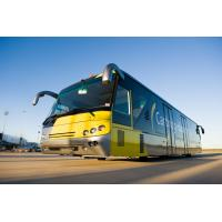 Quality 102 Passenger Low Floor Buses Airport Passenger Bus With Anti - Slip Rubber Floor for sale