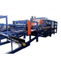 Quality Colored Steel PU Sandwich Panel Production Line , Roof Panel Roll Forming Equipment for sale