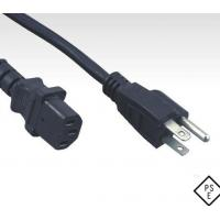 PSE approved Japanese cord set, Japan plug to C13 power cord for sale