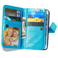 Buy iPhone 5 5S 6 6S Plus Wallet Case Retro Cover Bags Case Pouch 9 Cards Slot Holder Pocket at wholesale prices