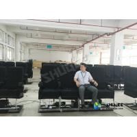 Quality Motion Chair 4D Movie Theater With Special Systerm And Metal Screen for sale