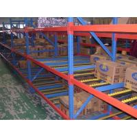 Quality High Volume Carton Flow Pallet Warehouse Storage Racks With Powder Coat Paint Finish for sale